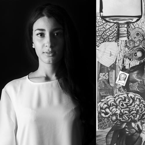 Nora Ezzaarouali / Rita Levi Montalcini