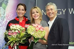 Rimini Wellness 2013 - Claudia Gerini - Raffaele Paganini - Elisa Di Francisca