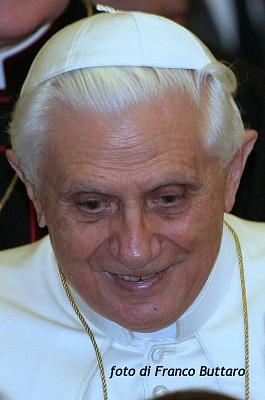 Papa Benedetto XVI   -  Città del Vaticano