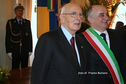 Presidente della Repubblica Giorgio Napolitano (Modena)