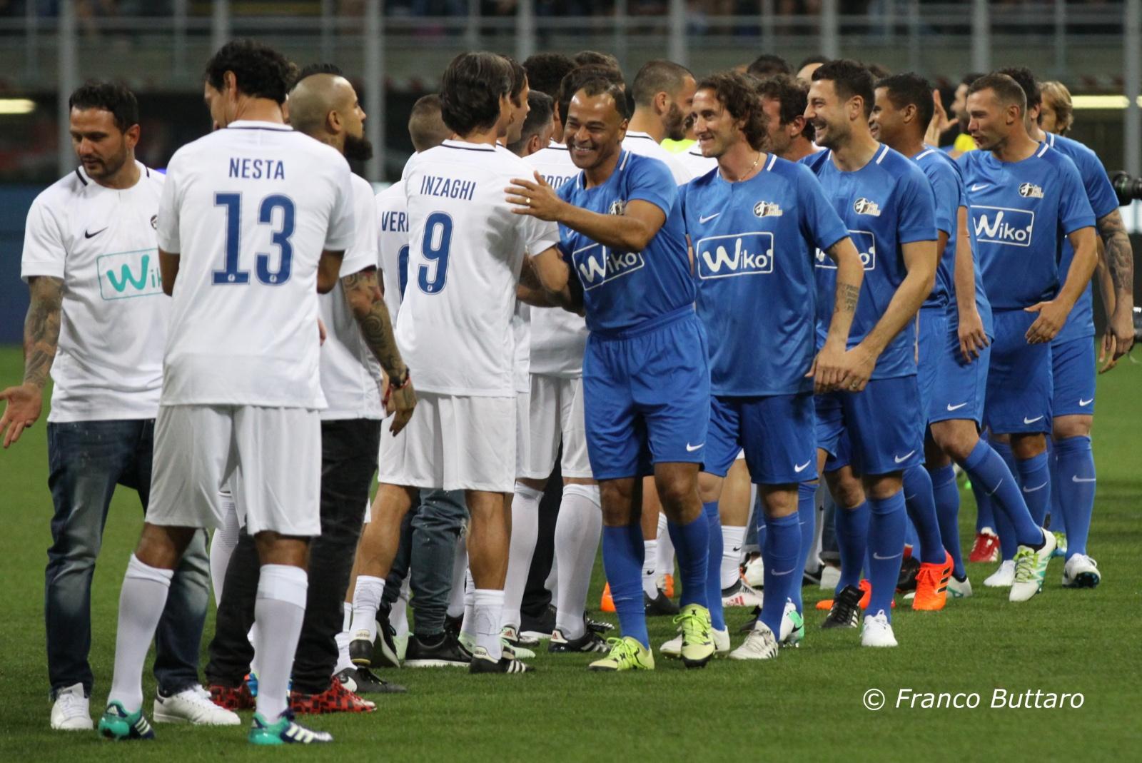 Andrea Pirlo - La notte del Maestro - Stadio San Siro Milano - 21 maggio 2018
