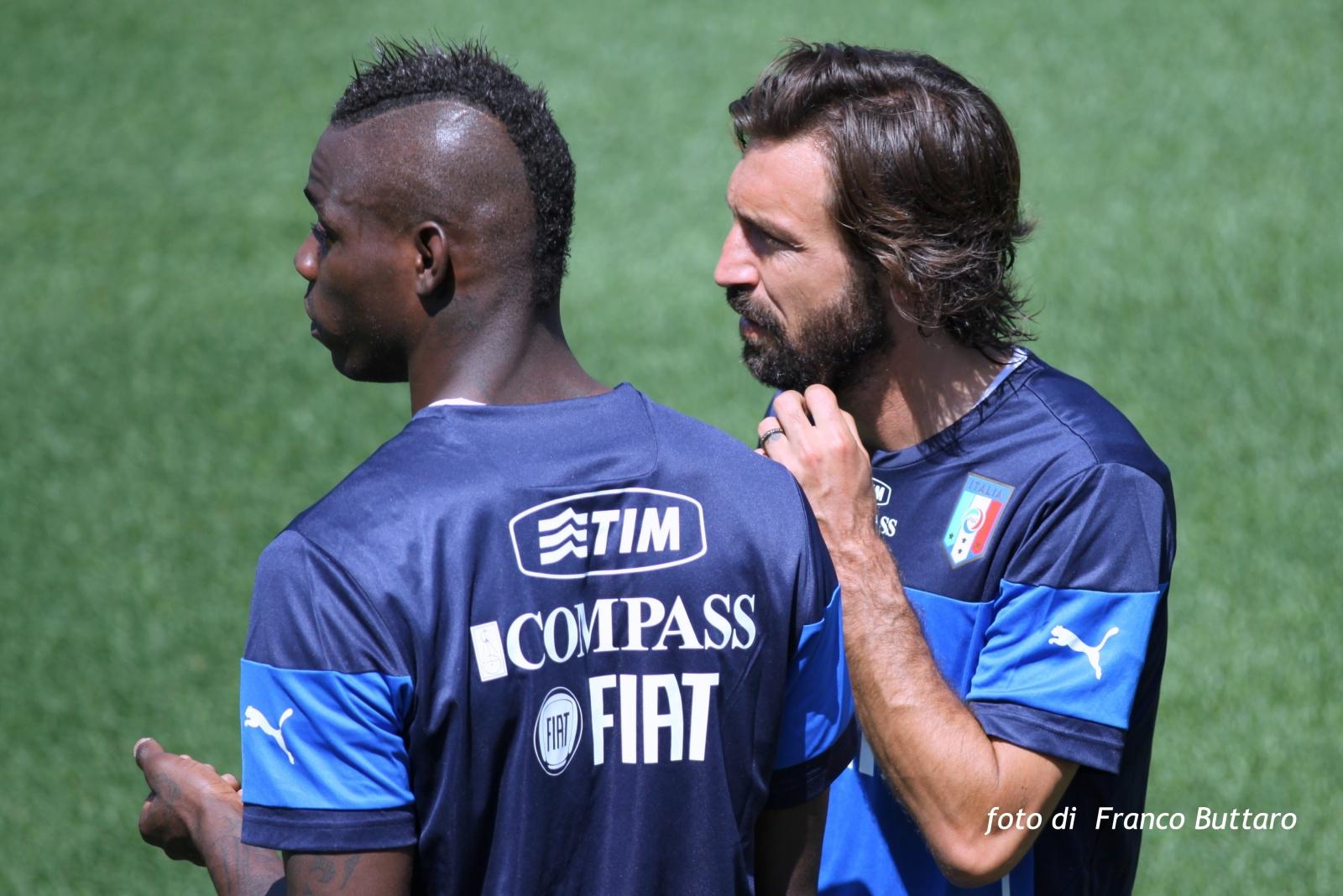 Calcio - Italia - Ritiro pre-mondiale 2014