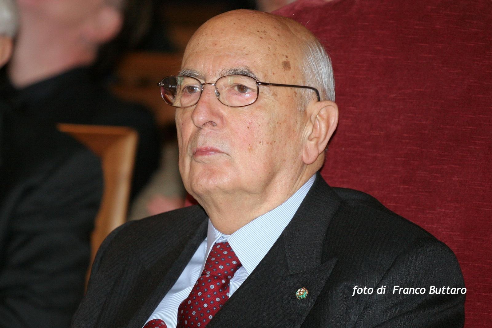 Presidente della Repubblica Giorgio Napolitano (Bologna)