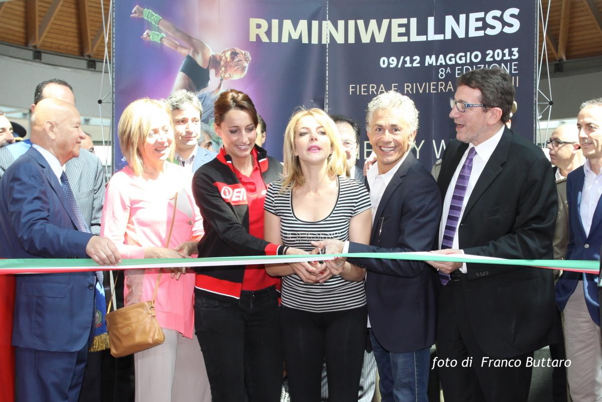 Rimini Wellness 2013 - Elisa Di Francisca - Claudia Gerini - Raffaele Paganini