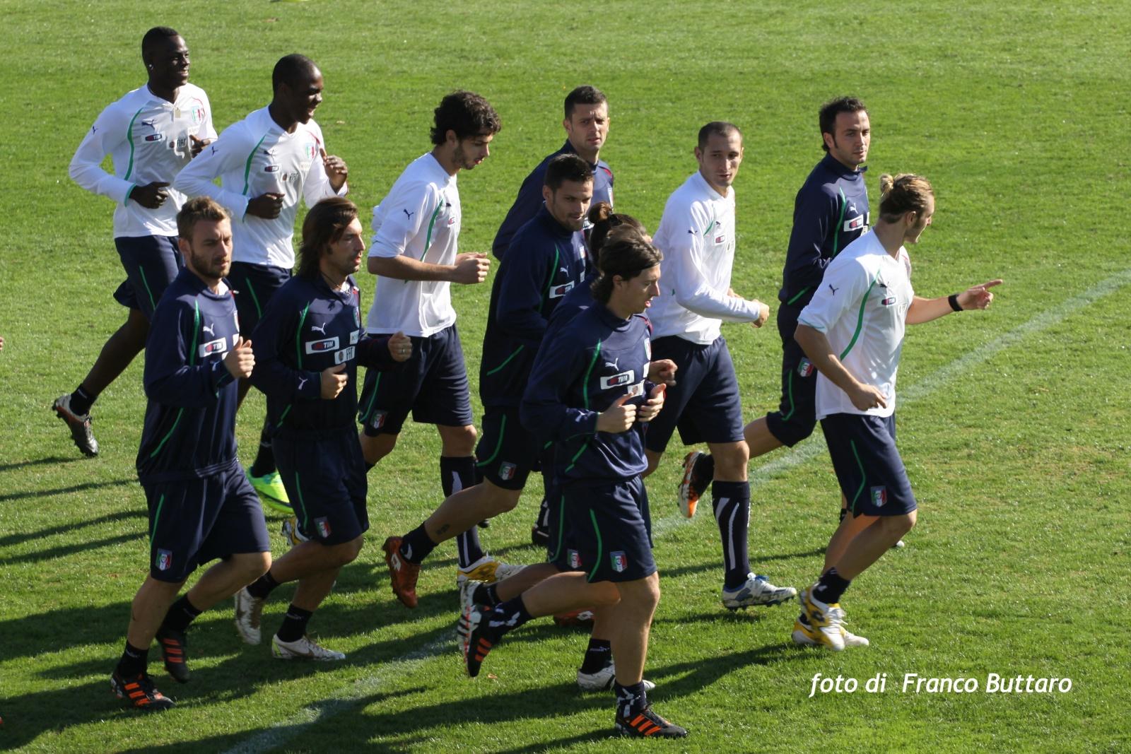 Nazionale A - Gli Azzurri di Cesare Prandelli