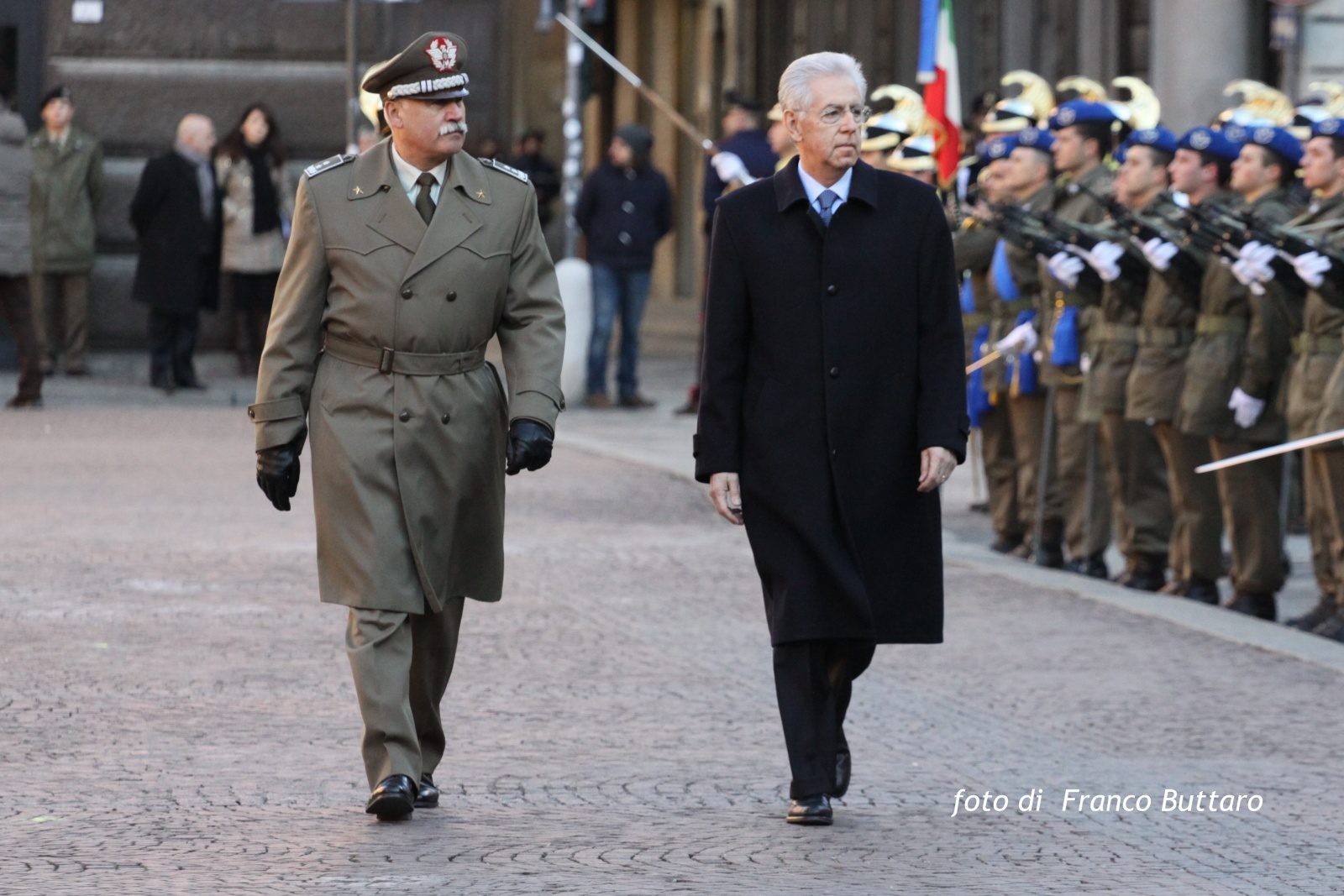 Presidente del Consiglio dei Ministri Mario Monti